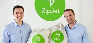 Florian Färber and Lorenzo Franzi, founders of ZipJet