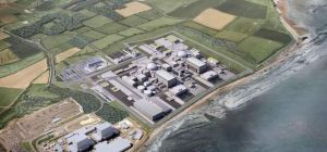 Hinkley Point nuclear power station.