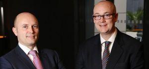 Hay & Kilner's Managing Partner, Jonathan Waters with Paul Illes, Partner at Hay & Kilner.