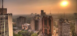 Delhi Skyline / source: Wikimedia