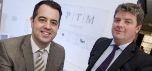 left) Jamie Paterson of PTM Group and Simon Johnson of NEL Fund Managers