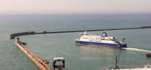 The Port of Dover has been seriously affected by Operation Stack. Photo: Raimond Spekking/Wikimedia