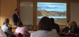 Phil Welton, Environment Agency presentation on Flood Risk Management