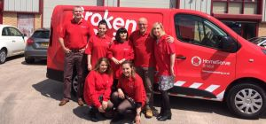 The new HomeServe Bristol team that will now deliver domestic boiler installations and heating servi
