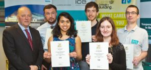 Leeds College of Building students receive coveted scholarships
