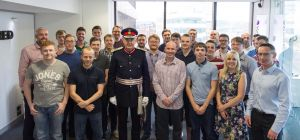 3Squared staff with Lord Lieutenant