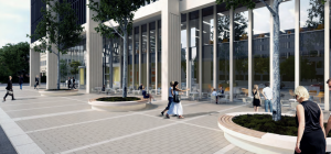 Mock-up of CEG's £50m Ealing office development.