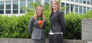 Taylor&Emmet's new contentious probate and employment law experts, Stacie Hurt (left) and Kelly Gibs