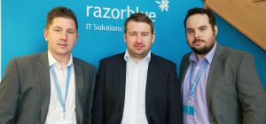 Mark Wilkinson (Operations Director), Dan Kitchen (Managing Director) and Jonathan Anderson (Busines