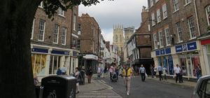 York Minster from the Shambles, August 2013