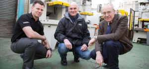 Record Growth: (l-r) Russell Hartill, Tony Carter and Charles Higgins (all Worcester Presses)