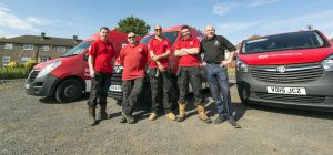 HomeServe's team of Scottish engineers on standby to support local community projects in Edinburgh a