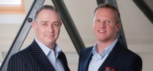 Left to right - Focus Management Consultants Limited Co-Founders Michael Staniland and Stephen Jones