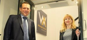 Andrew Dodsworth, new head of business development and Sue Staton, marketing manager