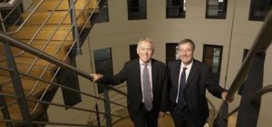 Bill MacLeod (right) says PwC will be there to help North East businesses face challenges going forw