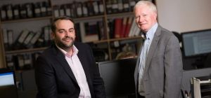 Stephen Richardson, Head Architect and George Penrice, Partner at Sanderson Weatherall Architecture