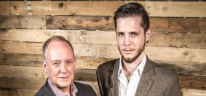 Owners of The Yorkshire Meatball Co., David and Gareth Atkinson.
