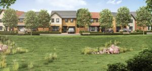 The application proposes a range of family homes, assisted living apartments and provision for affor
