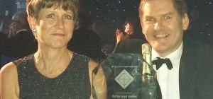 Trish and Bill Barton of Barton Legal win Niche Law Firm award