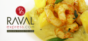 Raval's authentic prawn and mango curry is a southern Indian classic.