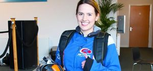 Taylor&Emmet's Victoria Jackson prepares for her sponsored skydive for annual charity, Rain Rescue.