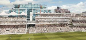 CGI of the ground's new seating