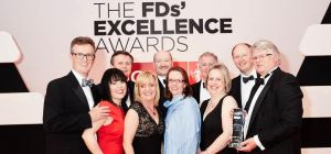 Haines Watts at the 2015 FD Excellence Awards