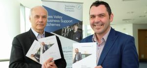L to R: Paul Booth, Chairman of Tees Valley Unlimited and Paul McEldon, Chairman of NEEAL