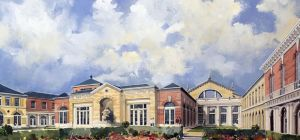 The new £300 million Defence and National Rehabilitation Centre (DNRC) at the Stanford Hall estate n