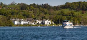 An artist's impression of how the Low Wood Bay Resort & Spa will look