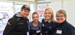 The MJ Baker Foodservice team at their annual trade show