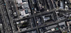 Blandford Street in Marylebone, the site of the new Jikoni restaurant.