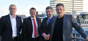 L-R, Jason Dainty, Martin Delafaille, Stuart Jackson and Richard Kempner.