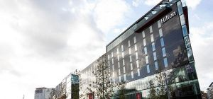 Oaktree Capital Management has purchased a 50% stake in the Wembley Park Hilton for £40m