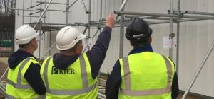 Kier employees training at AIS facilities