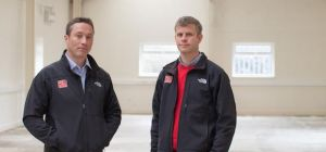Joe Orrell, Managing Director and Toby Bailey, Business Development director at Red Marine