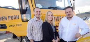 (from left-right): Ian Wharton, Emma Dixon, Jonathan Constantine