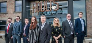 Neil and his team at the new premises