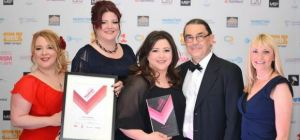 Delifonseca at the Liverpool City Region Tourism Awards 2015