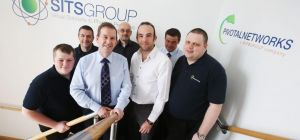 Kevin Almond (3rd from left) and the Pivotal Networks team