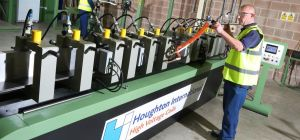 Houghton International increase capabilities with new coil press
