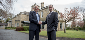 The handover of Fernwood House from Greggs to Lowes