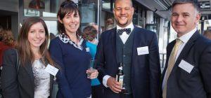 L-R: Rachel Hutchinson, sales & marketing manager, Grand Hotel; Ruth Allsop, PR & marketing executiv