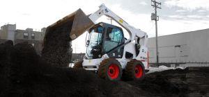 One of MTS Nationwide Limited's Bobcat machines.
