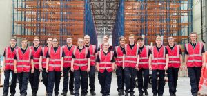 Siemens will employ around 1,000 people in Hull, including the first intake of 16 apprentices, seen