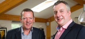 Andy Jewitt, new Director at 360 Chartered Accountants, is welcomed by Founding Director Andy Steele