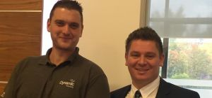 Chris Harrison and James Baird, MD of Dynamic Networks.