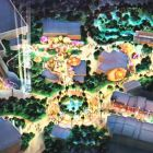 The DreamWorks zone within the Motiongate™ Dubai theme park.