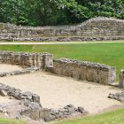 Ruins of St Clement's Chapel, Pontefract Castle