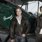 Giles English (left) with brother Nick English (right), Co-Founders of Bremont Watch Company